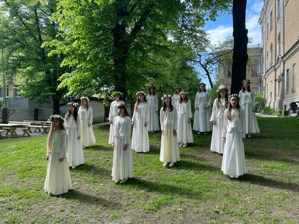 Dalība XII Latvijas Skolu jaunatnes dziesmu un deju svētkos